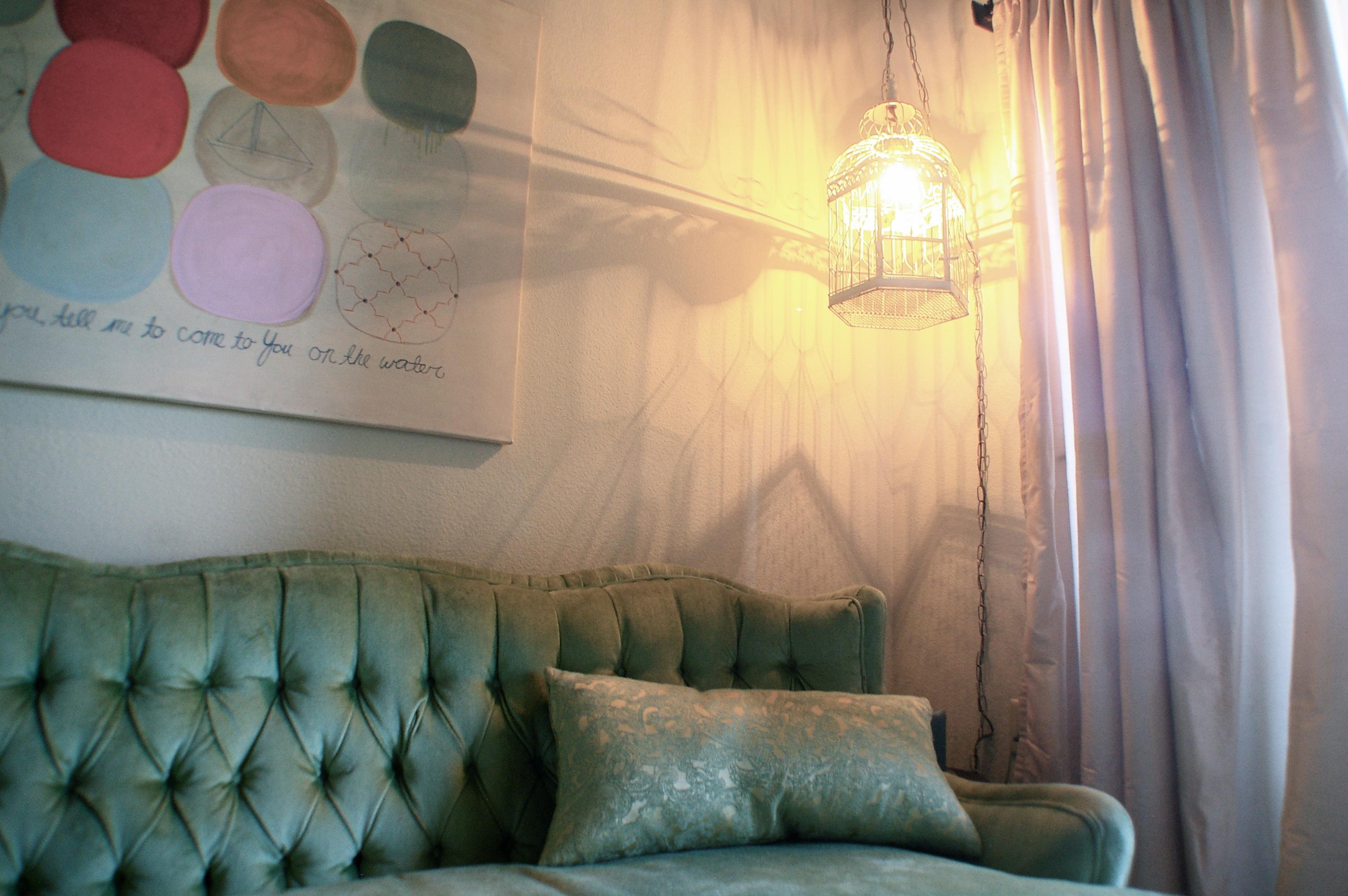 Diy Vintage Birdcage Lamp Sugar Cloth
