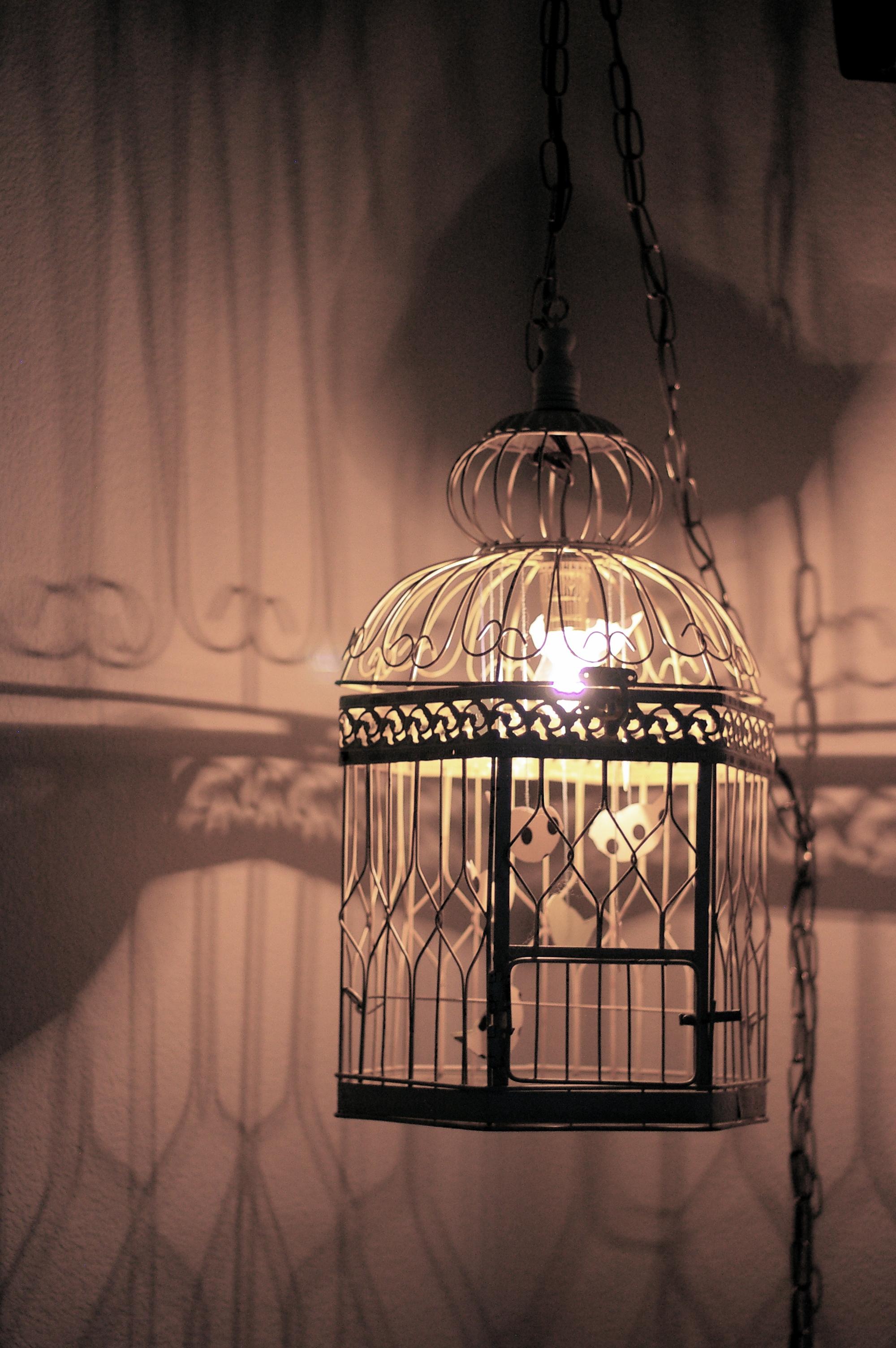 Diy Vintage Birdcage Lamp Sugar Amp Cloth