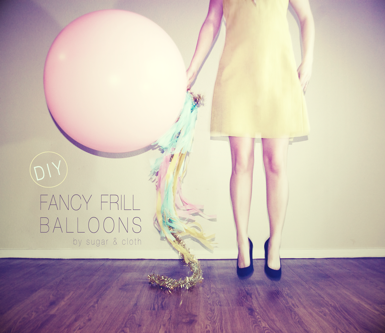 DIY geronimo balloons fancy frill