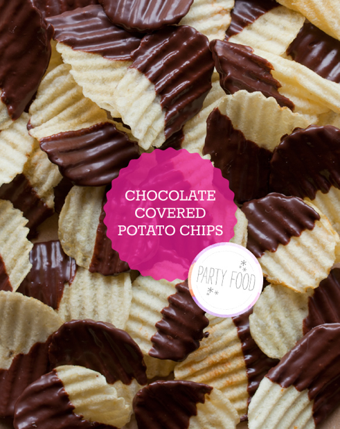 Simple Snack Chocolate Covered Potato Chips Sugar Amp Cloth